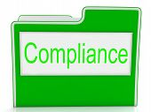 Compliance Files Shows Agree To And Comply