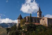 Santuario De Lourdes Next To La Nou De Bergueda