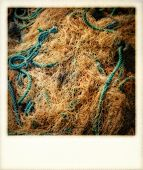 Fishing Nets On The Quayside