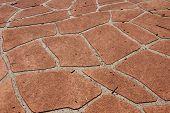 Stencilled Driveway Texture