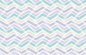 Pastel Color Zig Zag Seamless Pattern