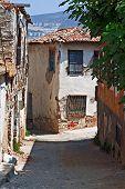 Rundown Houses In Turkish Village