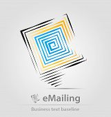 E-mailing Business Icon