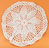 Lace Placemat Embroidered By Crochet