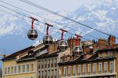 Cable car in Grenoble