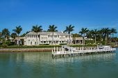 Waterside Home In Naples, Florida