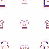 Vector background for American football uniform