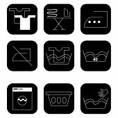 Icons For Laundry Services
