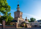 stock photo of trinity  - Holy Trinity Church in Khokhlovskiy Lane Moscow - JPG