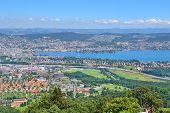 Top-view Of Zurich