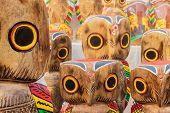 Wooden Owls , Indian Handicrafts Fair At Kolkata