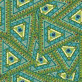 Tribal ethnic seamless pattern.