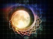 Zodiac Of The Moon Illustration
