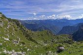 Alps On A Sunny Day.