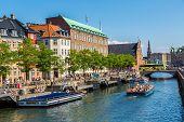 Center Of Copenhagen, Denmark