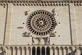 Closeup Of Assisi Cathedral