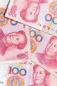 Modern Chinese Yuan Renminbi Banknotes