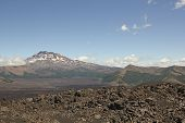 Volcanic Landscape In Southern Chile
