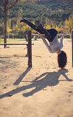 Outdoors Sport: Park Nd Woman