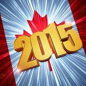 2015 Canada Flag