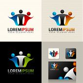 Logo Web Icon and vector identity