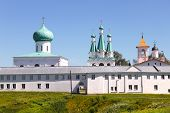 Alexander-Svirsky Monastery In Russia.