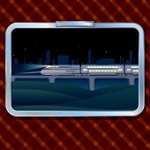 Night Train and Landscape
