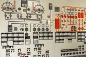 Control panel of a power plant