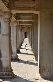 Corridor  Angkor Wat Cambodia
