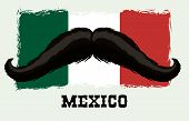 picture of mexican fiesta  - Mexico  mexican culture card design - JPG