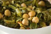 Chickpeas And Swiss Chard