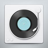 Постер, плакат: Vinyl Player
