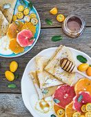 pic of kumquat  - Spring vitamin breakfast set - JPG