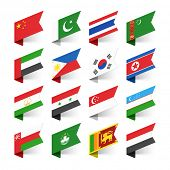 foto of flags world  - Flags of the World - JPG