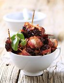 Bacon Wrapped Prunes