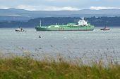 Chemical Tanker At Braefoot Bay