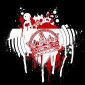 Red Crown Graffiti