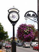 Street Clock  80064