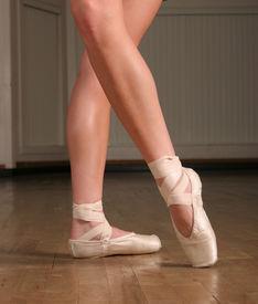 stock photo of ballet dancer  - ballet dancer - JPG