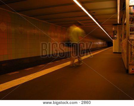 Underground Station poster
