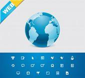 Universal glyphs 9. Web icons