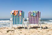 Two Beach Chairs