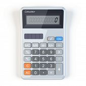 Calculator - top view