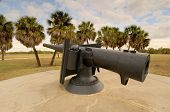 cannon at Fort Desoto, Florida