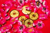 Chinese New Year - Emperor's Coins Ornaments