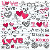 stock photo of xoxo  - Valentine - JPG