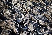 Detail Of Gabion.