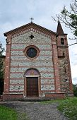 St. Antonio Abate Church. Statto. Emilia-Romagna. Italy.
