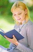 Best Self Help Books For Women. Books Every Girl Should Read. Girl Interested Sit Park Read Book Nat poster