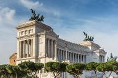 Vittorio Emanuele Ii Monument Also Known As The Altare Della Patria  Is A Monument Built In Honor Of poster